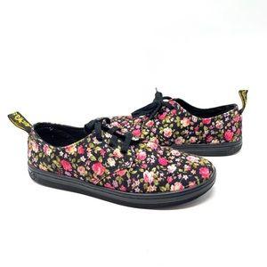 Dr. Martens Aldgate Floral Canvas sneakers size 8